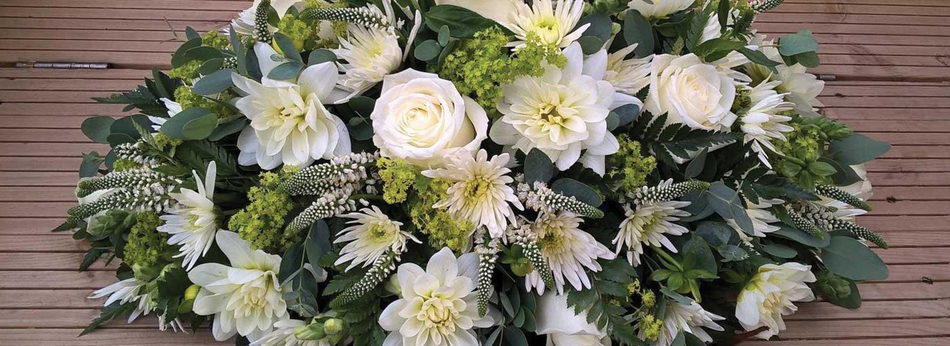 funeral flower arrangements casket sprays